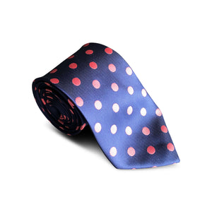 Big Dot Blue Tie