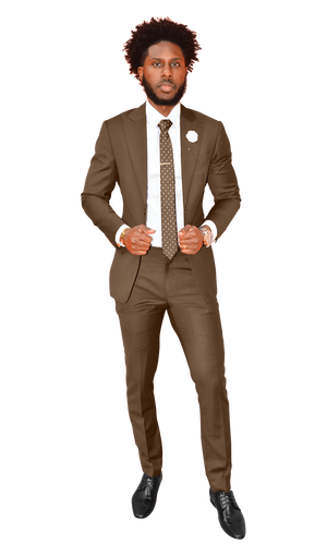 The Regal Brown Suit