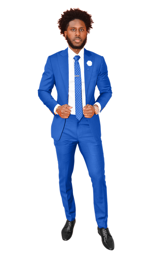The Regal Blue Suit