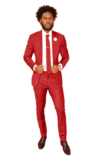 The Regal Fire Red Suit