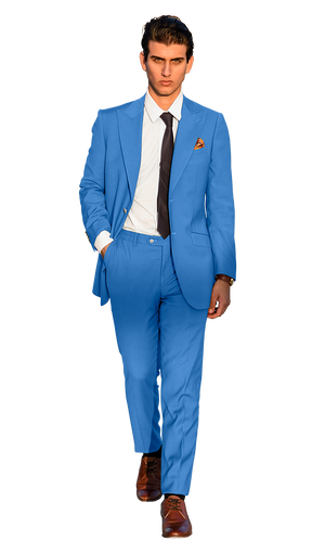 The Regal Powder Blue Suit
