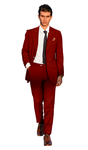 The Regal Red Suit