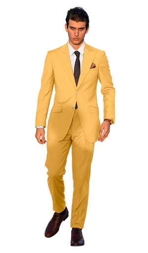 The Regal Soft Yellow Suit