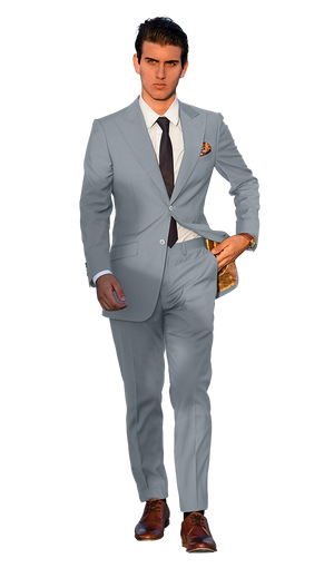 The Regal Light Grey Suit