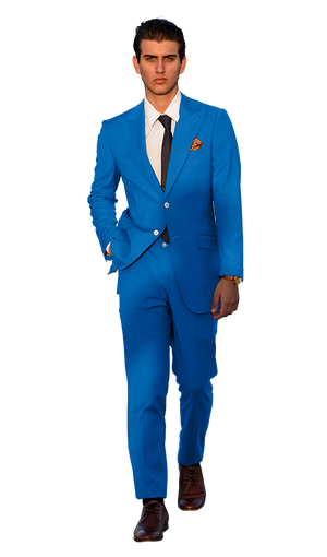 The Regal Teal Suit