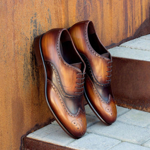 The Artisan Full Brogue Patina Custom Shoe