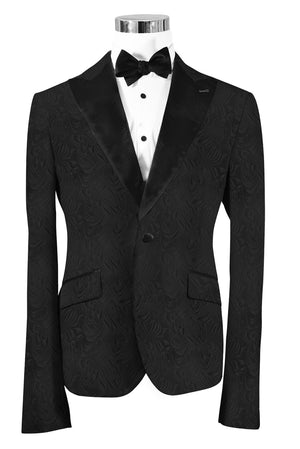 The Regal Black Paisley Dinner Jacket