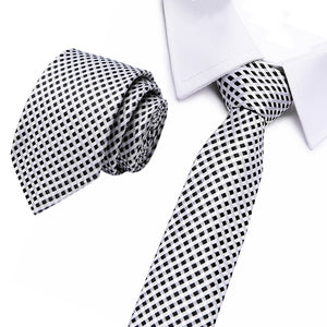 Silk Striped & Paisley Neck Tie