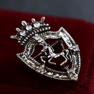 New Vintage Horse Lapel Pin