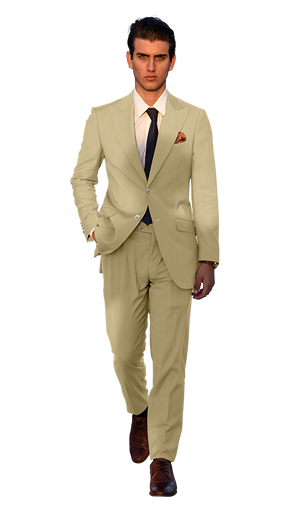 The Regal Khaki Suit