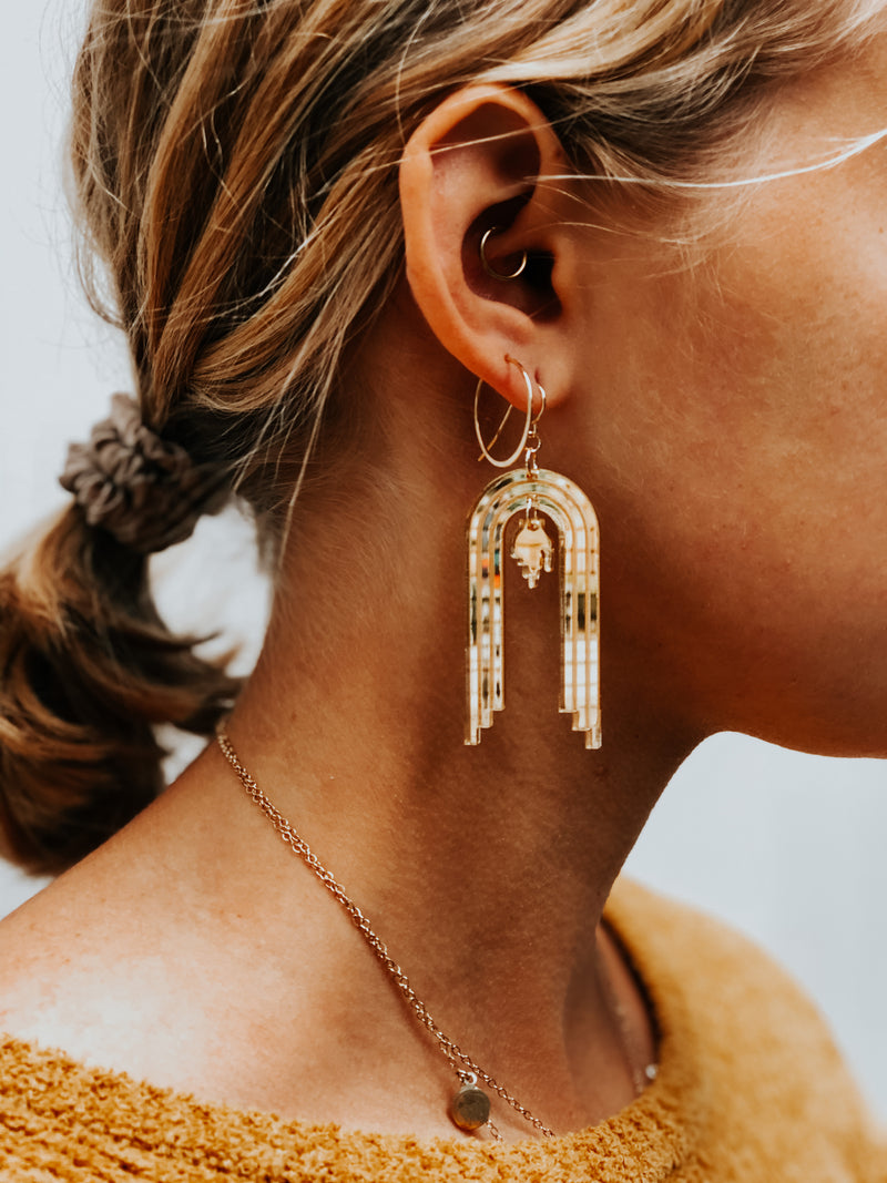 Lamentation Dangle Earrings
