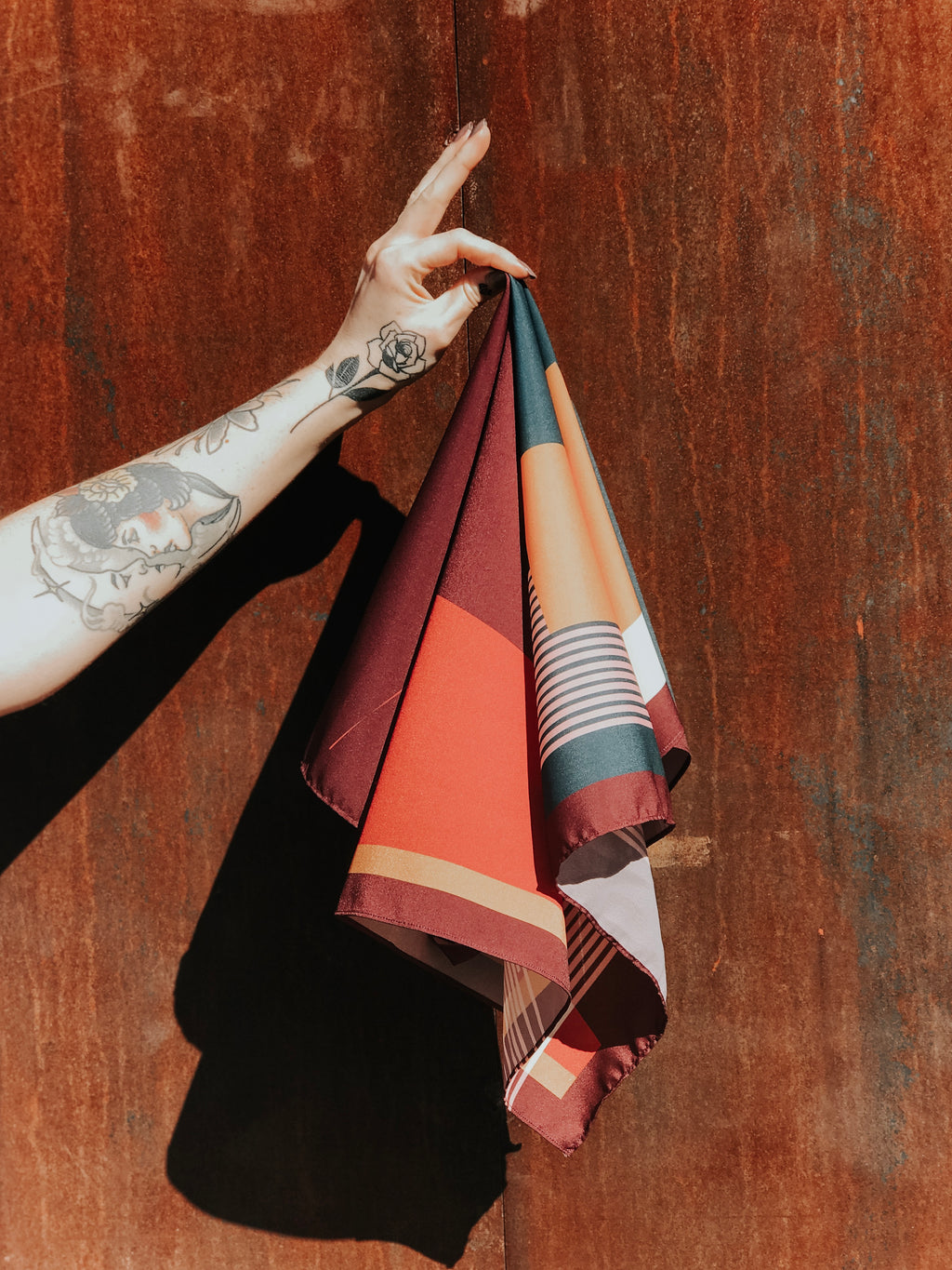 Buhlaixe Sunset Silk Scarf