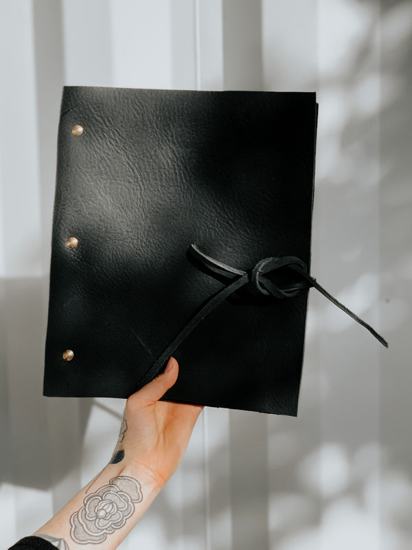 Oversized Leather Journal