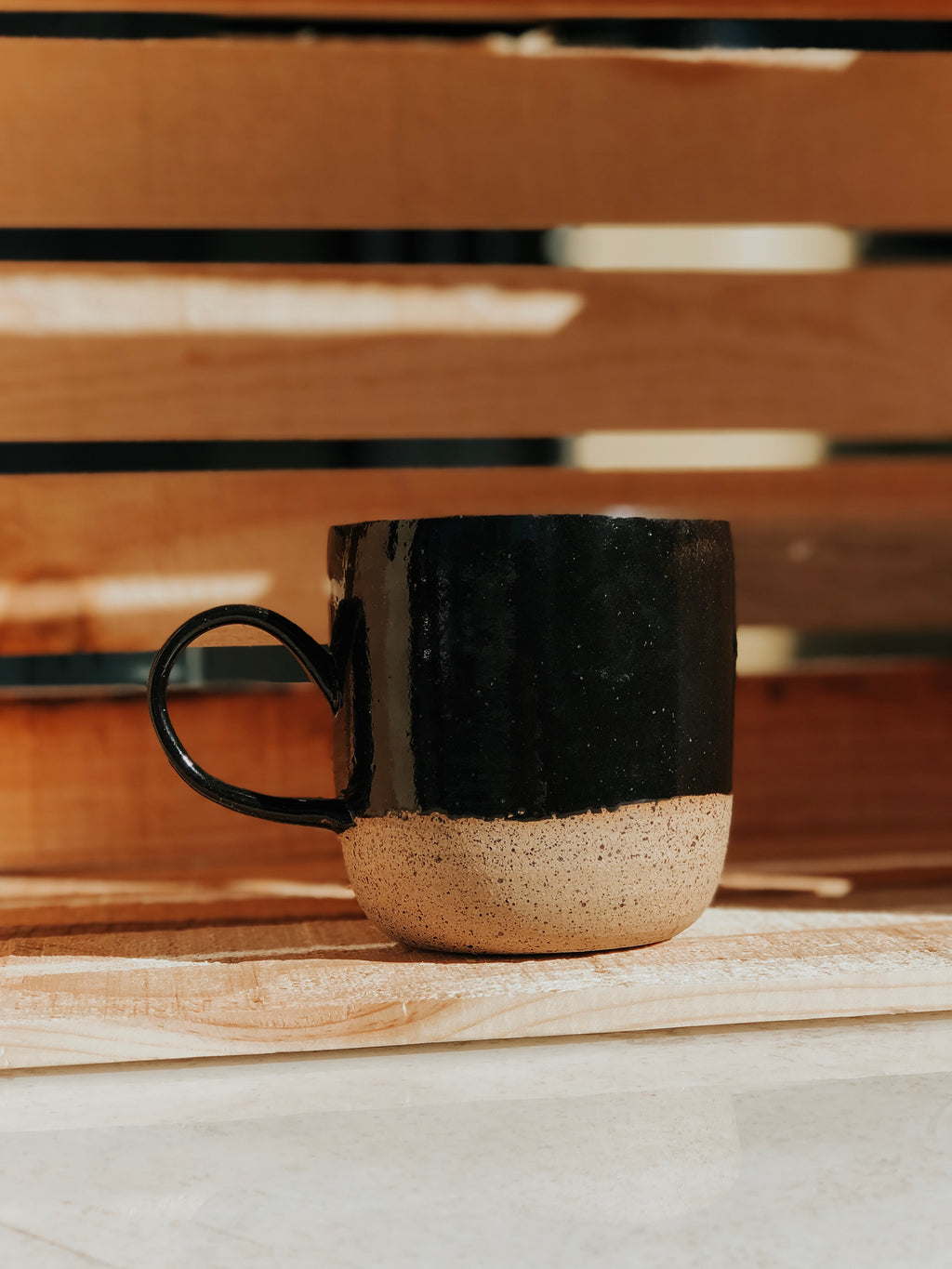 Black and Tan Mug