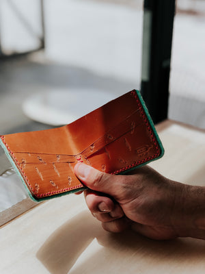 Bad Craft Stamped Bifold Wallet