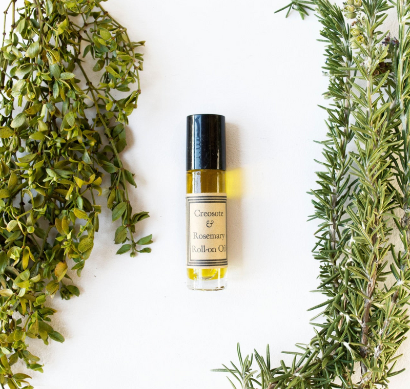 Creosote & Rosemary Roll-on