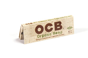 OCB Organic Hemp Papers 1 1/4 - House of Smokes