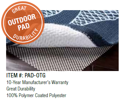 Outdoor Rug Pad FlairD