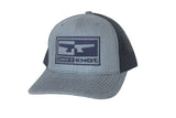 Signature SwiftKnot Logo Hat – Heather Gray & Navy