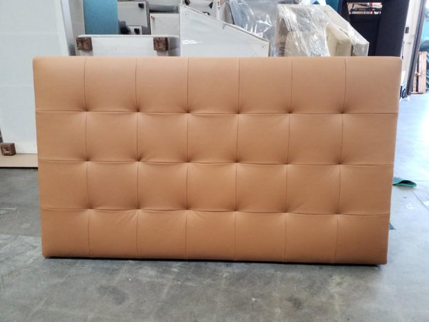 Ceremony Headboard in Dreamer Camel (Clearance)