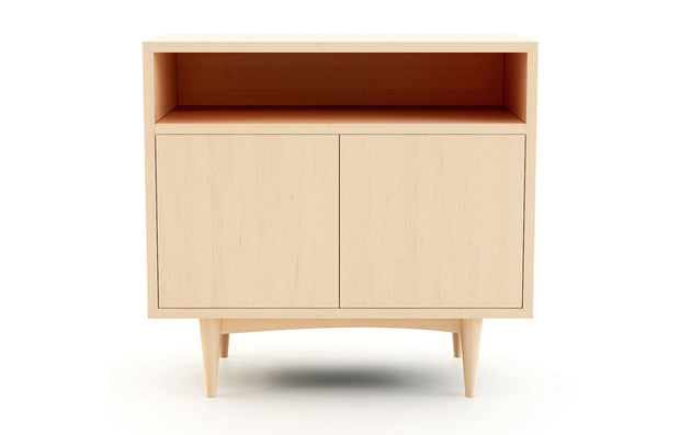 Atten Open Shelf 2-Door Credenza
