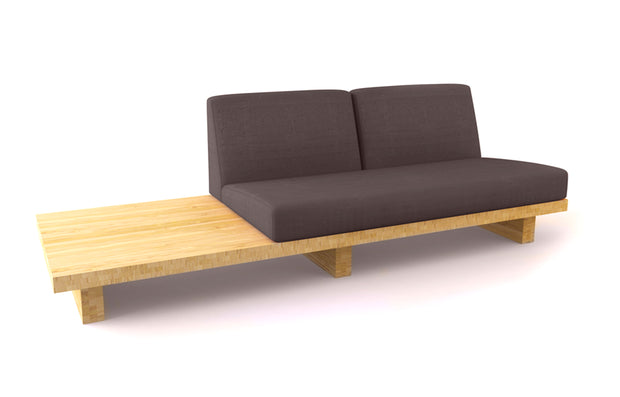 Bamboo Float 2-Seater w/ End Table
