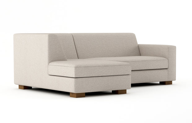 Shown angle view of the Left Bumper Sectional.