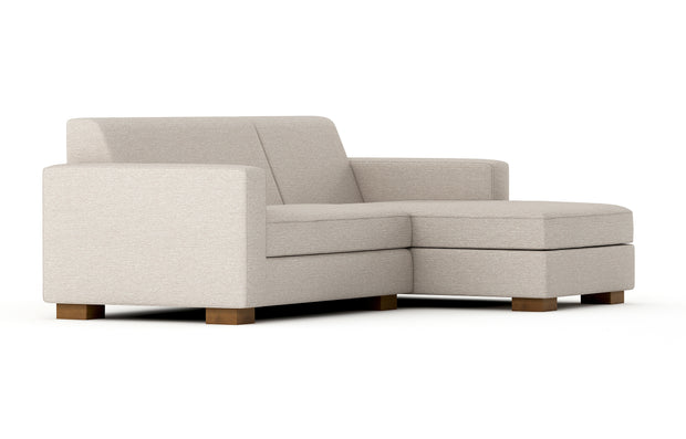 Shown angle view of the Right Chasie Sectional.