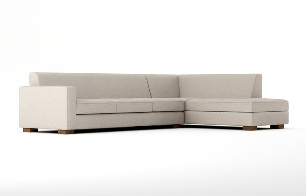 Showing angle view of the Right Bumper Sectional XL.