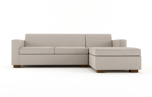 Brenem Chaise Sleeper Sectional - Chaise Right Full Sofa Bed.