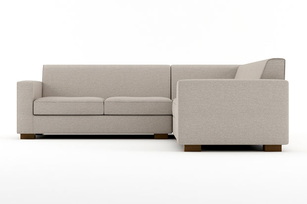 Showing front view of the Brenem Corner Sectional.