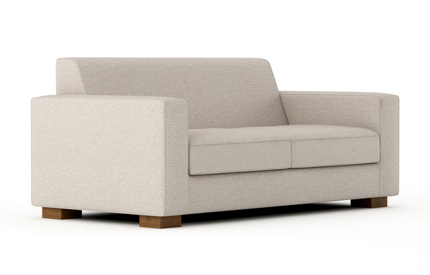 Shown angle view of the Brenem Loveseat.
