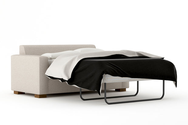 Showing angle view of the Full Sofa Bed - Open.