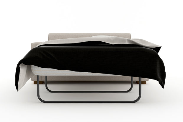 Showing front view of the Full Sofa Bed - Open.