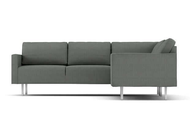 Shown in Casandra Slate fabric.