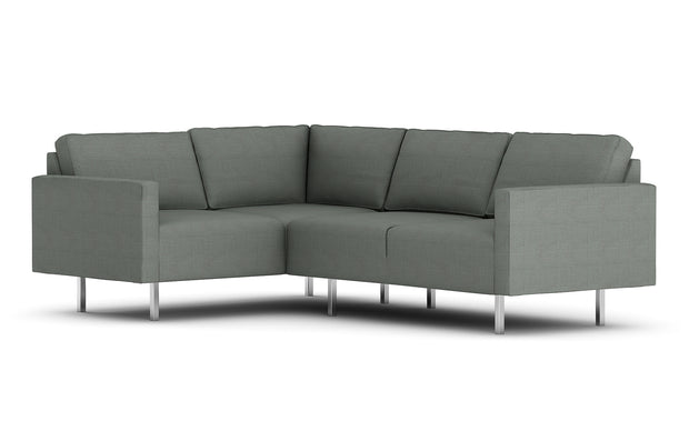 Showing front view of the Metz L Sectional.