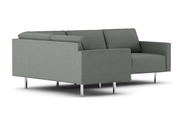 Showing side view of the Metz L Sectional.