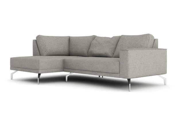 Showing front view of the Miku Apartment Bumper Sectional.