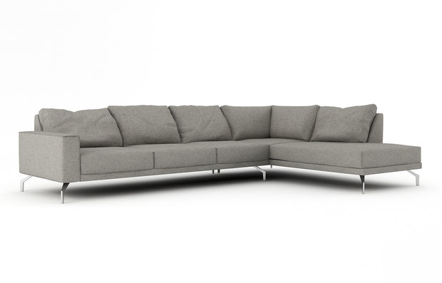 Showing front view of the Miku Bumper Right Sectional XL.