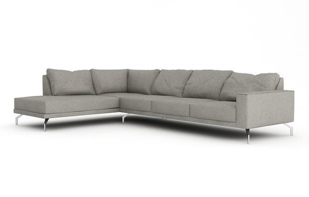 Showing front view of the Miku Bumper Left Sectional XL.
