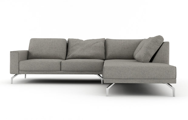 Showing front view of the Miku Right Bumper Sectional.