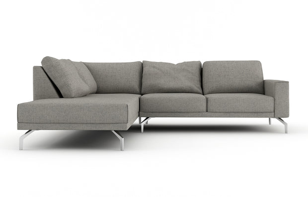 Showing front view of the Miku Left Bumper Sectional.
