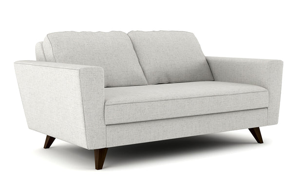 Showing angle view of the Pel Loveseat.