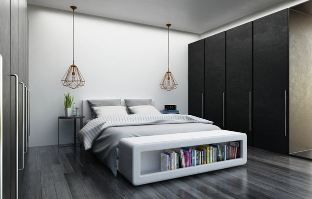 Bedrooms are about comfort, yes, but also functionality