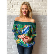 Off Shoulder Blouse Top