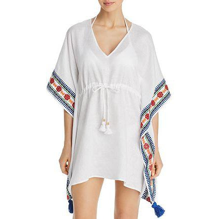 Ravena Embroidered Beach Caftan