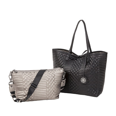 Quilted Reversible Tote