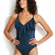 Shine On Frill Front Maillot One Piece
