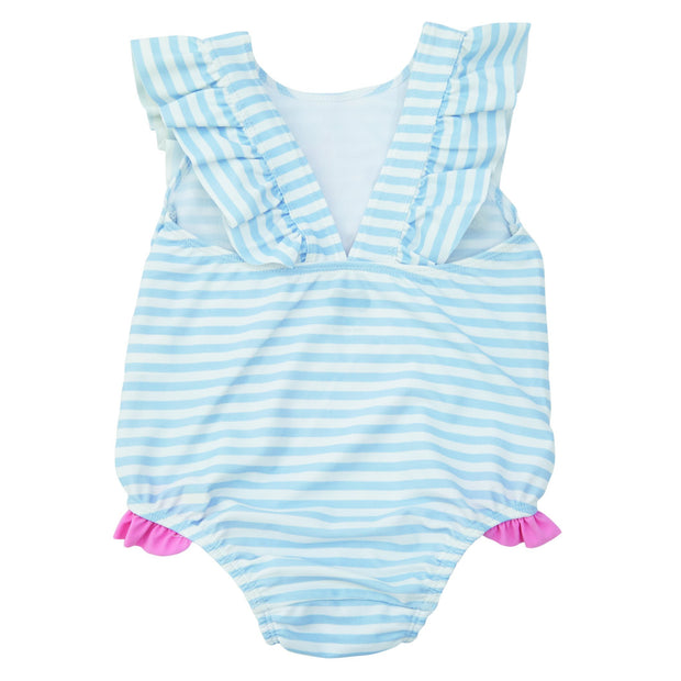 Sail Away Ruffle Swimsuit