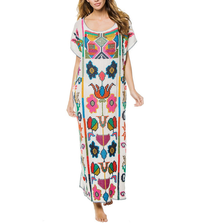Vita Embroidered Kaftan